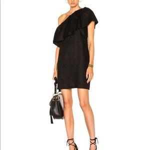 Mara Hoffman Linen Mini Dress size 2 NWOT Black